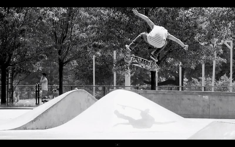 Zered Bassett backside flip