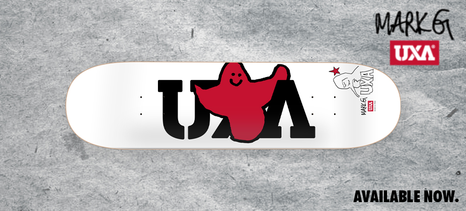 Mark Gonzales UXA Bird Skateboard